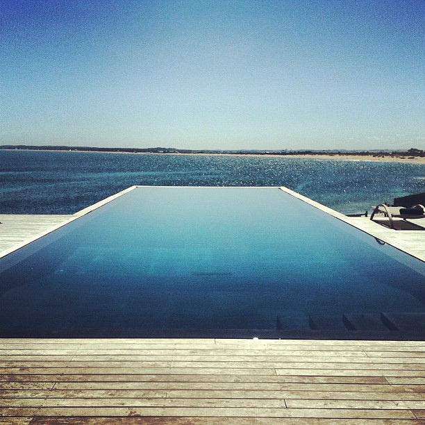 Infinity Pool at Playa Vik in Jose Ignacio, Uruguay