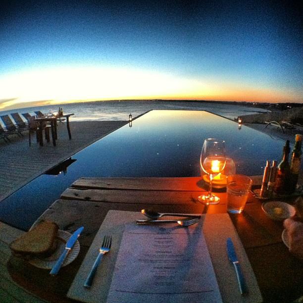 Dusk Dinner at Playa Vik