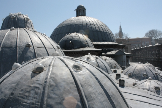Domes of Suleymaniye Hamam (courtesy of their website)