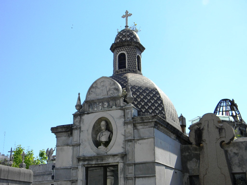Huge Mausoleum in Recoleta Cemetery