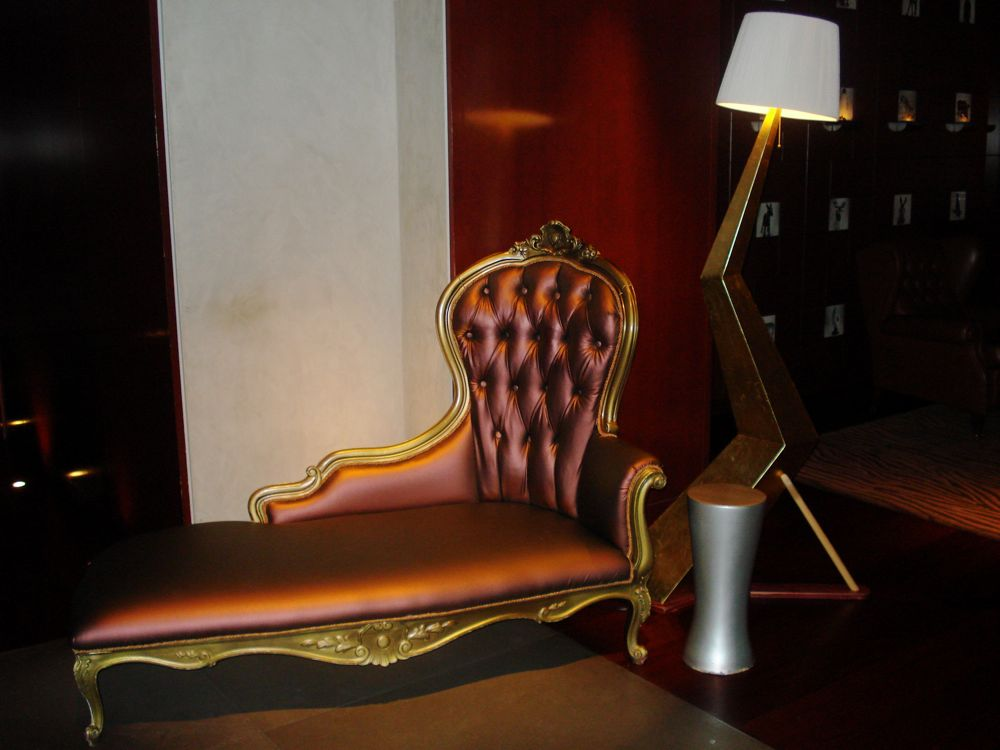 Chaise Lounge at the Clift
