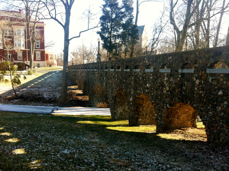 Stone Bridge near Western Miami University