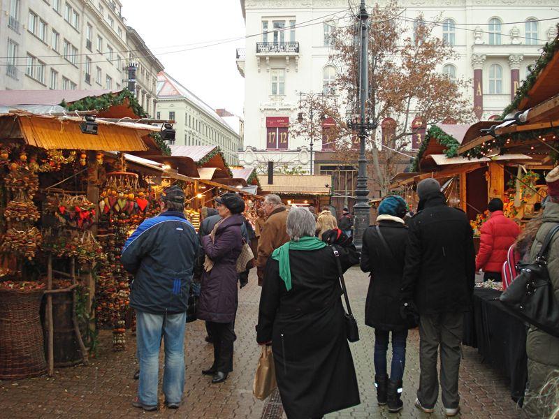 Vorosmarty Square in Budapest