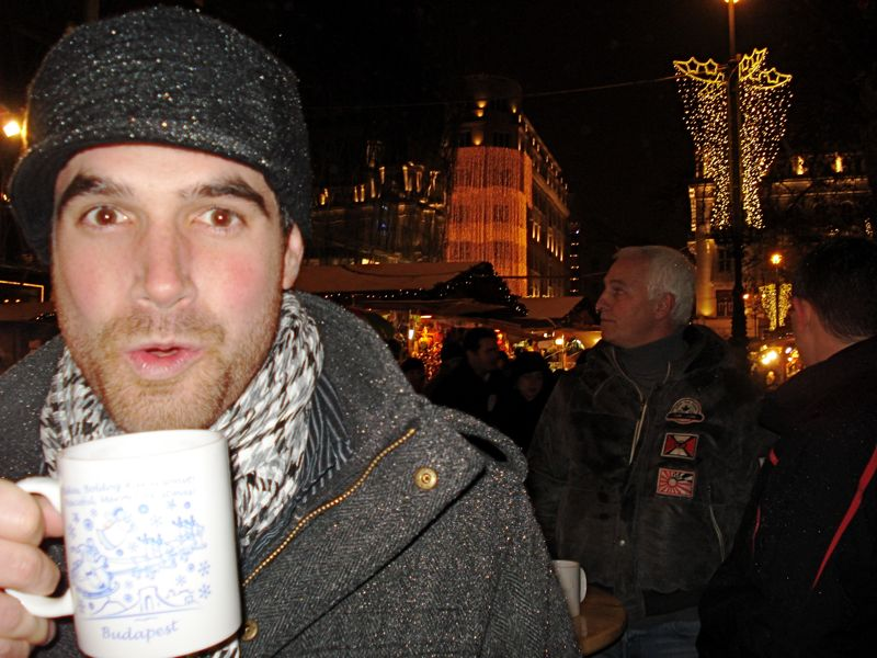 mulled wine in budapest