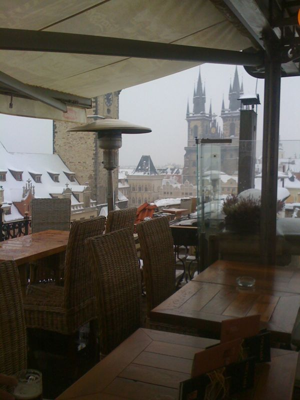 Hotel U Prince rooftop in Prague