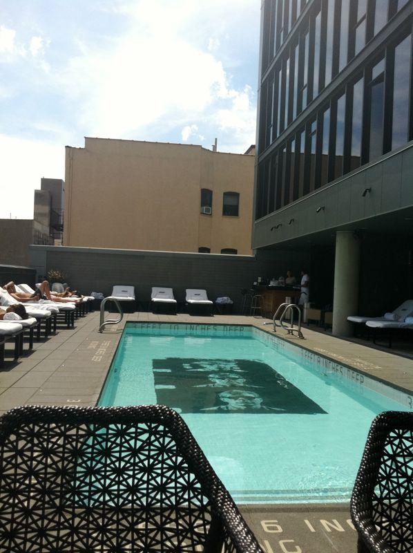 The Thompson LES pool
