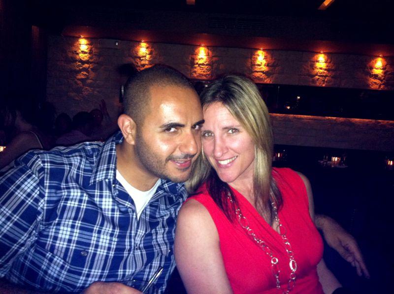 Muhanad and Eryn at Salinas