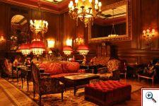 Ruby red lobby - Photo by Amber Bridges
