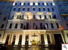 Facade of the Alta Moda Fashion Hotel, photo courtesy of Alta Moda Fashion Hotel