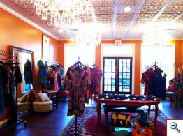 Front Room of Amy Kirchen Boutique in Milford, Ohio
