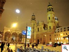 Theatinerkirche and the Feldherrnhalle