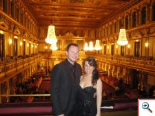 Jill and Nick in the Golden Hall